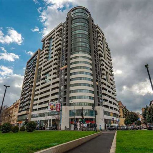 Flat for sale with 1 bedroom at Kostava Str. 80 ( Saakadze Tower)