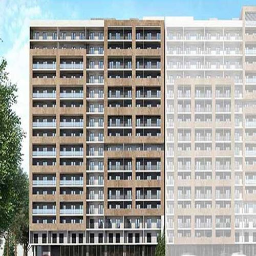 Under construction flat for sale at Farnavaz mefe street