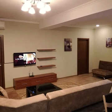 Two bedroom apartment for rent on Saakadze Street in Tbilisi